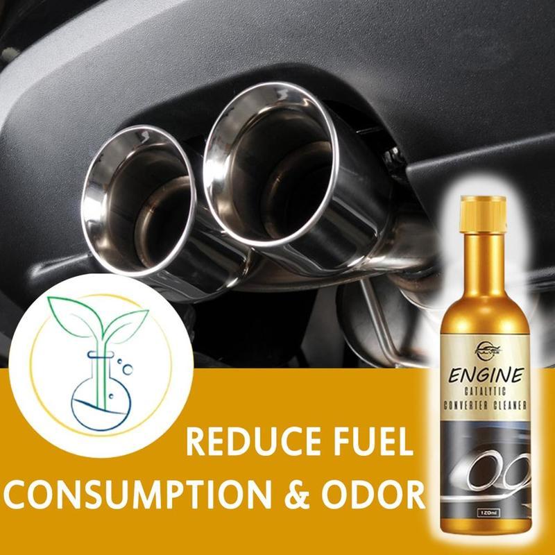 Motor de 120ml, convertidor catalítico, limpiador potente y multiuso, Herramientas de limpieza para el mantenimiento de coche moho