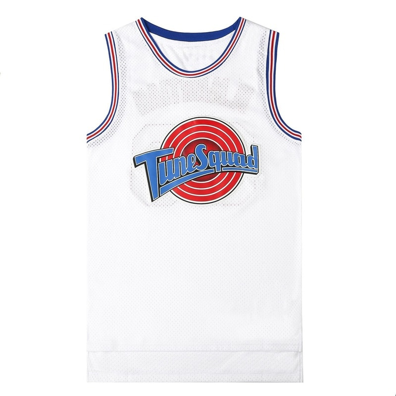 Movie Cosplay Costumes Space-Jam #23 JD #1 BUGS #10 LOLA #22 Murray Bunny Basketball Jersey Stitched
