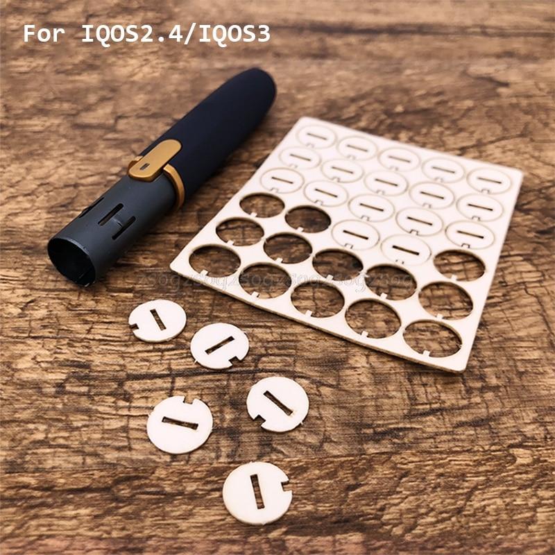 30 pçs acessórios de reparo ferramenta limpa pequena fatia junta limpa para iqos 2.4 mais absorver junta óleo drroship au13 19 droship