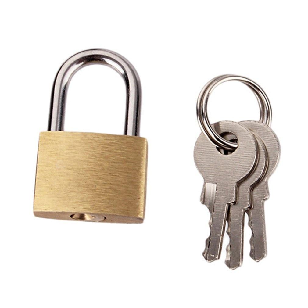 QFT793 Anti-rust Small Size Wolf Dog Copper Padlock Wolf Head Brass Lock Small Locks Door Locks Anti-Rust Lock Core With 3 Keys
