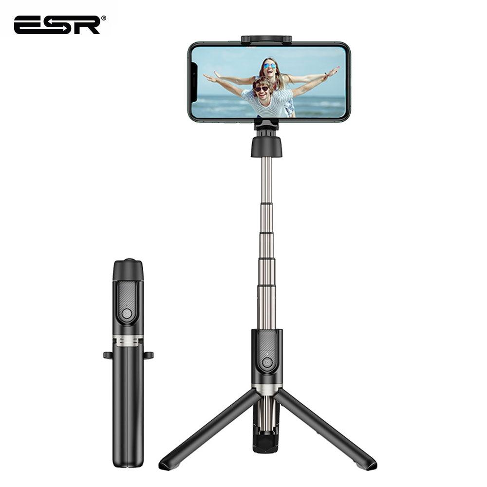 ESR Bluetooth селфи палка портативный складной ручной смартфон камера штатив монопод беспроводной пульт дистанционного управления для iPhone Android Huawei