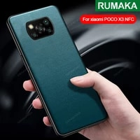 for xiaomi 10 ultra poco x3 pro poco m3 f3 x3 nfc case fashion leather shockproof back cover for redmi note 10 10s k40 pro case