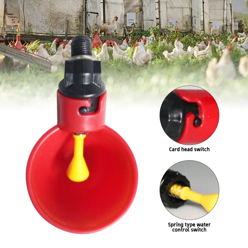 5/10 штук поилки для голубей, перепелов, птиц, кур, подвесная чаша для воды, автоматическая поилка для птицы