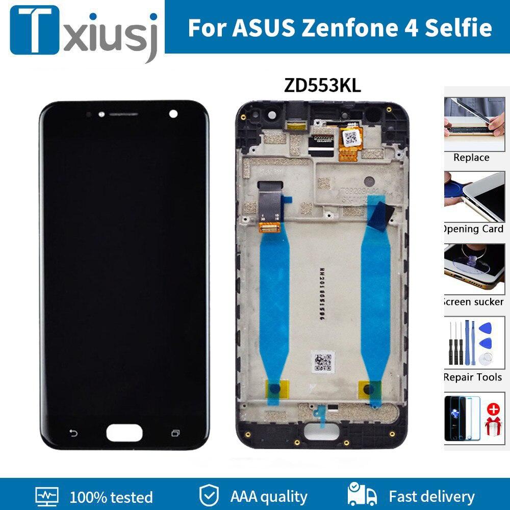 Digitalizador LCD Original para ASUS Zenfone 4, pantalla táctil y reemplazo de...