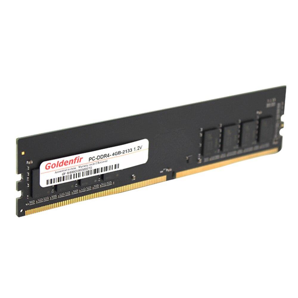 Goldenتمرير DDR4 ذاكرة عشوائية RAM 2133/2400 ميجا هرتز 284 دبوس كمبيوتر ألعاب ذاكرة عشوائيّة للحاسوب المكتبي غير ECC 1.2 فولت 4/8/16 جيجابايت الكمبيوتر اللوحة ...