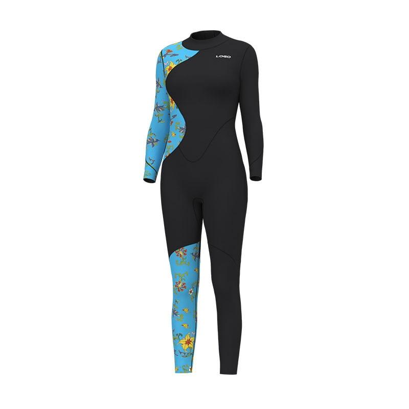 Men Scuba 3MM Neoprene Long Sleeve Surfing Diving Suit Keep Warm Water Sport Snorkeling Spearfishing WetSuit Swim Hunt Equipment