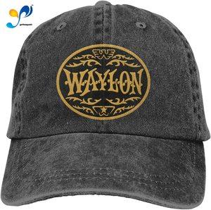Waylon Jennings Sunshade Outdoor Sun Protection Casual Breathable Hat