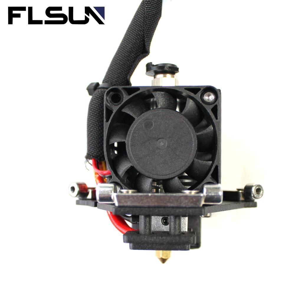 FLSUN ثلاثية الأبعاد الطابعة المؤثر ل Q5 أجزاء 1.75 مللي متر PLA خيوط مع V6 الحرارة نهاية 0.4 مللي متر النحاس فوهة 24 فولت مروحة التبريد
