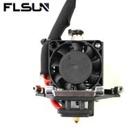 Эффектор FLSUN для 3D-принтера Q5, детали 1,75 мм, пла-нить с нагревательным концом V6, латунная насадка 0,4 мм, вентилятор охлаждения 24 В