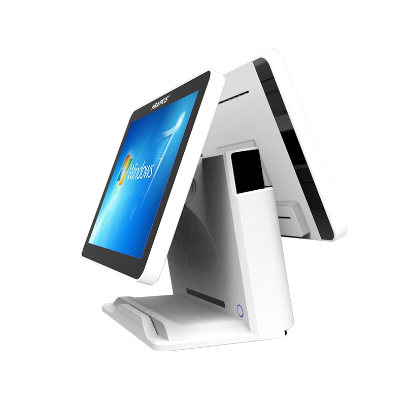 pos system dual screen cash register 15 inch touch screen pos system for hotel superstore retails small business Pos Machine enlarge