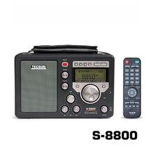 Livraison gratuite Original TECSUN S-8800 PLL DSP AM/FM/LW/SW tout bande SSB récepteur Radio stéréo + télécommande T1218