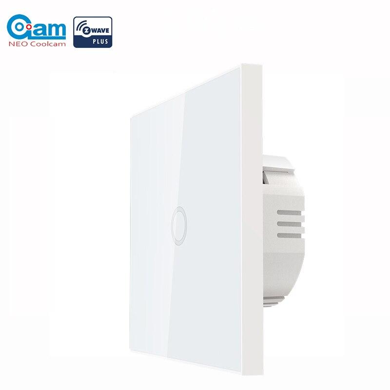 COOLCAM-مفتاح إضاءة الجدار ، Z wave Plus ، 1 قناة ، إدارة آلية ، جهاز تحكم عن بعد ذكي ، لاسلكي ، جهاز تحكم عن بعد للإضاءة ، 868.4 ميجا هرتز