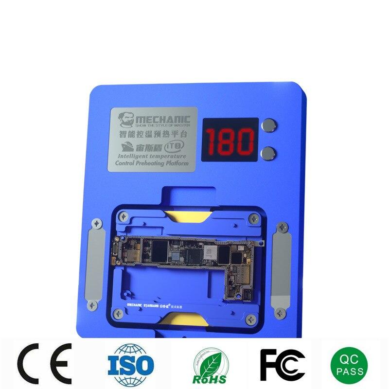 Умная подогревательная платформа Mechanic для iPhone X-12 PRO MAX материнская плата многослойная/интегральная микросхема BGA трафарет/Инструменты для ремонта точечной матрицы