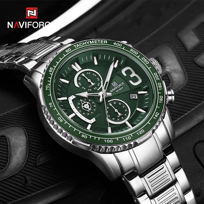 Watch Chronograph Sport Mens Clock Quartz Clock Top Brand Luxury Fashion Watches Date Waterproof Wristwatch Relogio Masculino