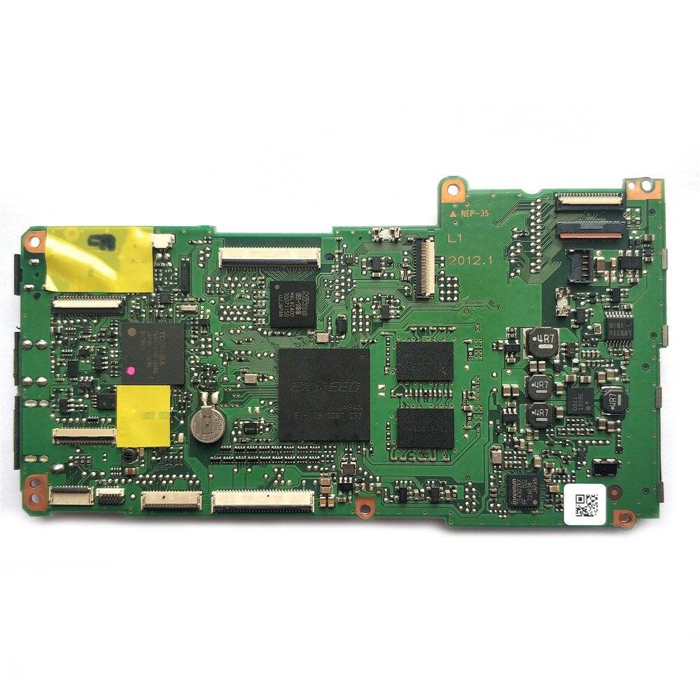 الأصلي اللوحة الرئيسية اللوحة لنيكون D600 PCB MCU الجمعية استبدال لنيكون D600 كاميرا إصلاح أجزاء (المستخدمة)