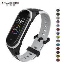 X style strap For Mi Band 3 4 5 Sport Strap watch Silicone wrist Bracelet For xiaomi mi band 3 4 bracelet Miband 5 4 3 Strap