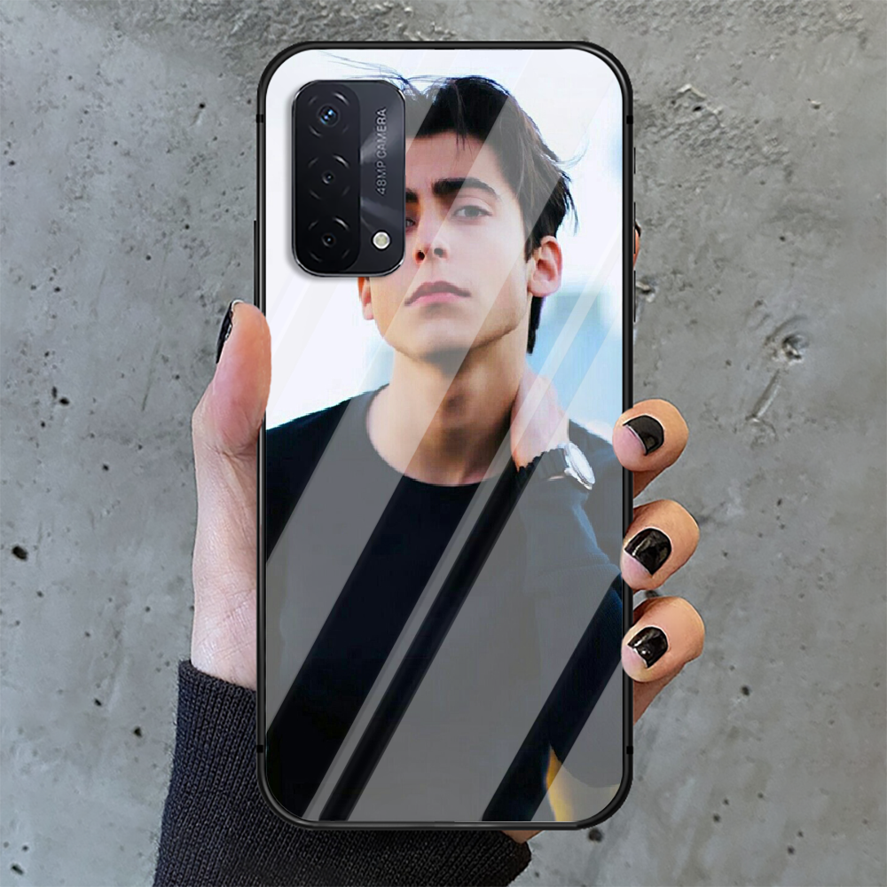 Aidan Gallagher Umbrella Academy Phone Tempered Glass Case Cover For oppo realme find a x c xt gt 2 53 3 6 7 50 11 i Pro 4g 5g  - buy with discount