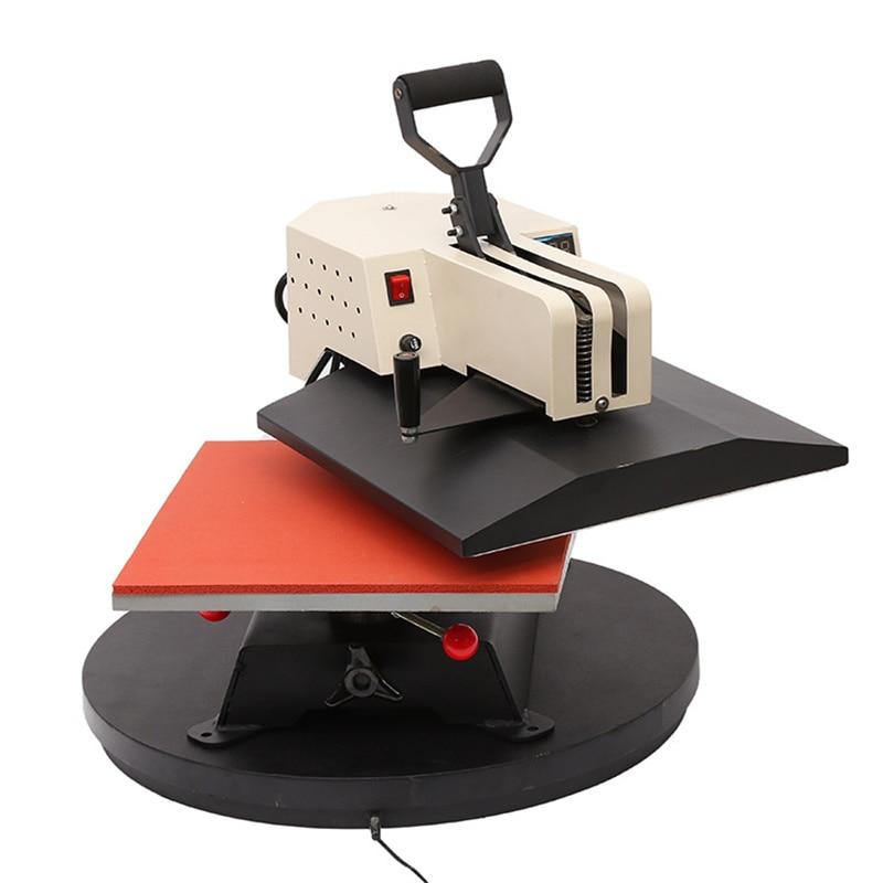 سوينغ بعيدا تصميم 38X38 سنتيمتر نقل الحرارة الصحافة DIY بها بنفسك تي شيرت ماكينة طباعة بحبر التسام