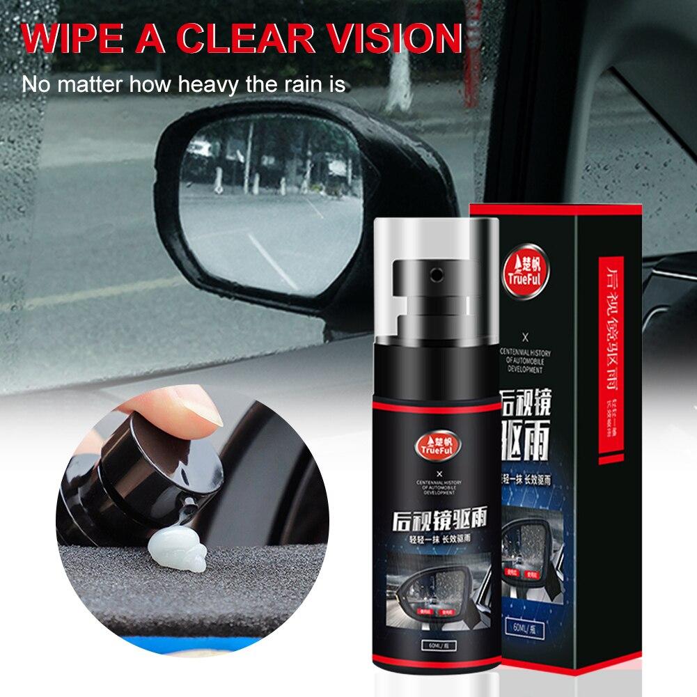 Средство против дождя, 60 мл, водонепроницаемое, непромокаемое, супер гидрофобное покрытие для зеркала заднего вида, стекла, автомобильные а...