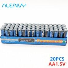 Neue 20PCS Einweg Alkaline Trocken Batterie AA 1,5 V Batterie, Geeignet Für Kamera, Rechner, wecker, Maus, Fernbedienung