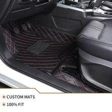 Flash Mat Lederen Auto Vloermat Voor Bmw E36 E39 E46 E60 E90 F10 F15 F16 F30 X1 X3 X4 x5 X6 1/2/3/4/5/6/7 Serie Auto Accessoires
