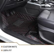 Flash mat leather car floor mats for suzuki grand vitara 2008 jimny sx4 swift car accessories waterproof carpet rugs foot mats