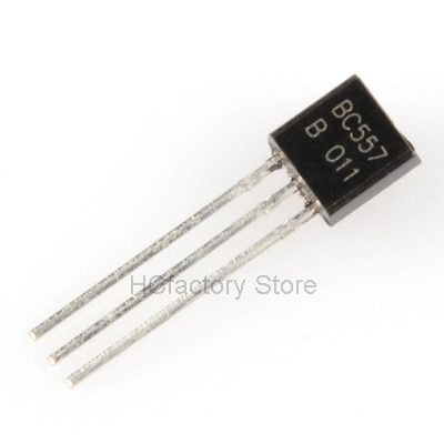 Новый оригинальный 100 шт. BC557B TO-92 BC557 TO92 557B Новый триодный транзистор оптом единый дистрибьютор список