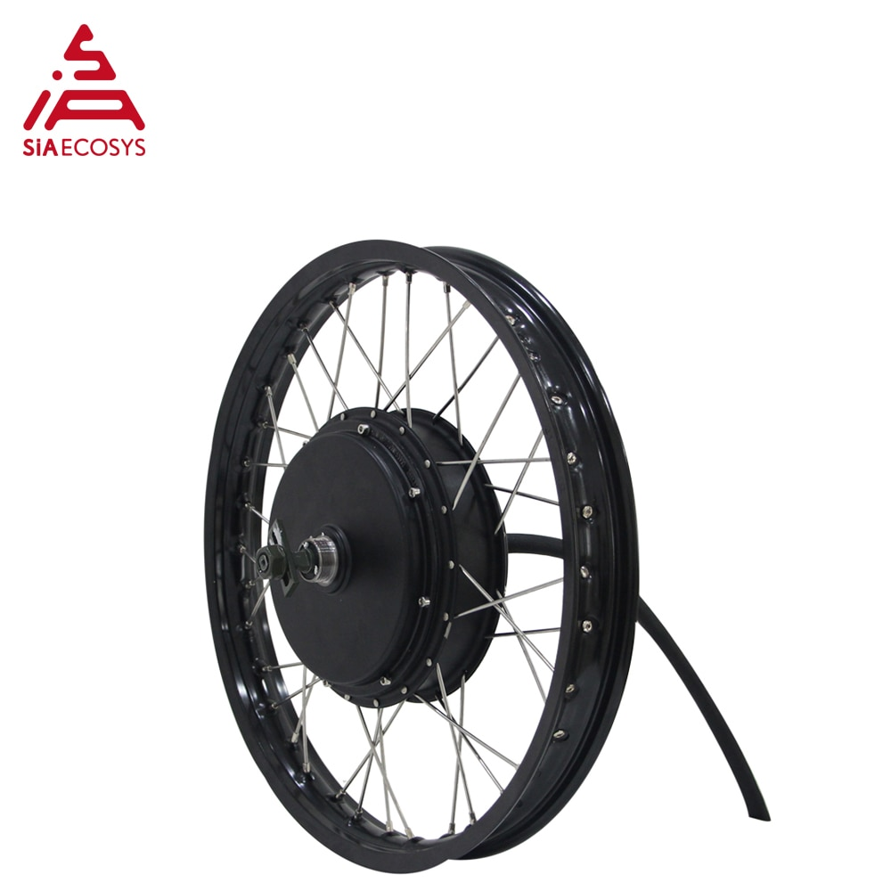 QS Motor 205 50H V3/V3I/V3TI Spoke Hub Motor Lacing with 19inch Rim High Power Bicycle Kit / E Bike Kit enlarge