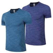 Chaussures de Course pour hommes T-shirt Décontracté Chemise Chemise De Sport Vêtements Dentraînement Séchage Rapide Haut
