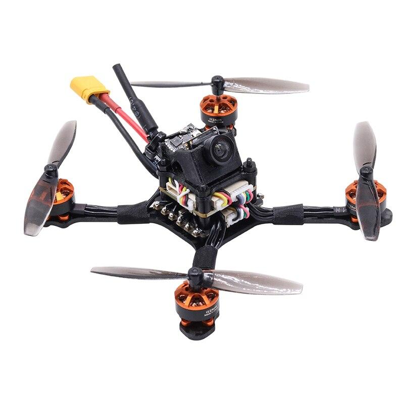 Racing Bee 105mm 2.5inch F411 20A Caddx Beetle 1200TVL 1104 8600KV 2-3S FPV Toothpick Racing Drone DIY Sets for RC Beginner Tyro