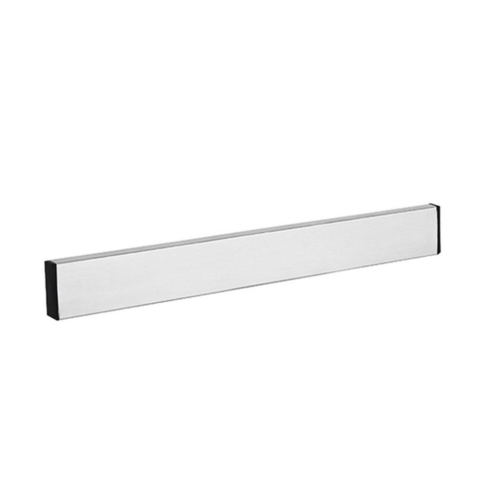 Magnético auto-adesivo suporte de faca de aço inoxidável bloco fixado na parede fácil armazenamento faca rack tira para utensílio de cozinha