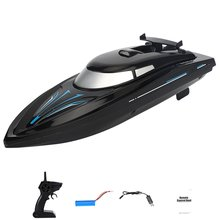Electric Racing RC Boat 2.4G 48KM/H Ship Remote Control High Speed Kids Child Toys Gift Water Sports