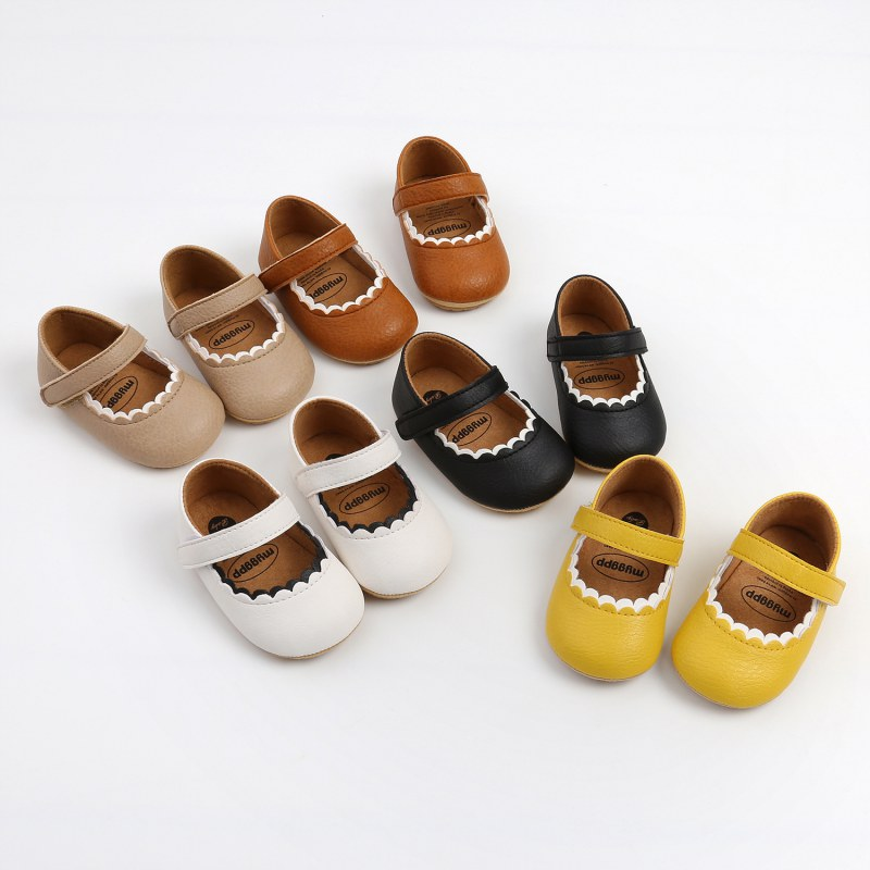 Spring Autumn Children Baby Girls Shoes New Casual Fashion Cute Soft-soled Non-slip Toddler Shoes 1-18Months