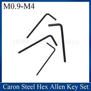 7pcs 0.9mm-4mm Mini Hexagon Hex Allen Key Set Wrench Screwdriver Tool Kit Micro Hex Wrench