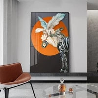 modern animal plant living room canvas decorative painting poster picture album photo home decor wall art decoration accessories