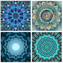 Cristal strass diamant peintures Kits accessoires Cuadros Diamante 5d broderie mosaïque peinture par numéros Obraz Mandala décor