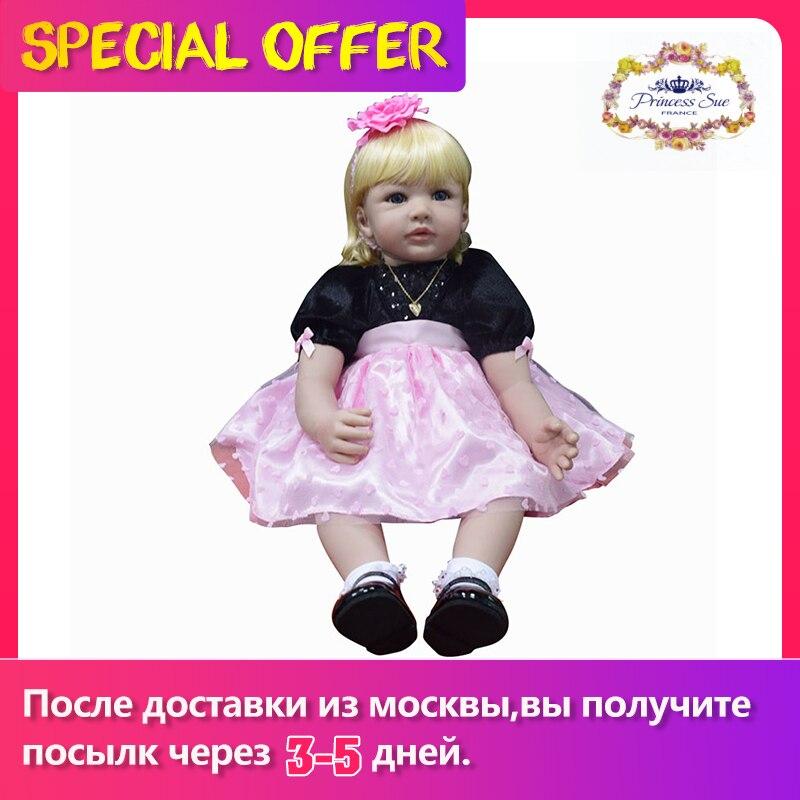 55cm, muñeca de vinilo de princesa Reborn, muñeca de bebé realista para recién nacido, muñeca realista para niña, juguete bonito para niños, regalo de cumpleaños, Navidad, vacaciones