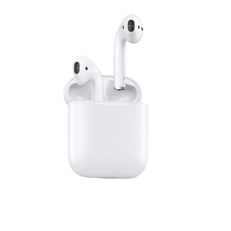 Jedna sprzedaż oryginalne słuchawki bezprzewodowe Airpods 1 oryginalne słuchawki Bluetooth dla iPhone Xs Max XR 7 8 MacBook