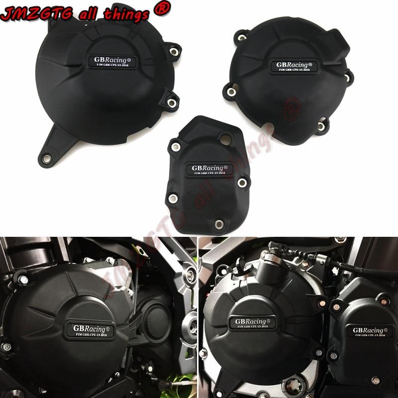 غطاء حماية المحرك لدراجة كاواساكي النارية ، السباق GB ، Z900 ، 2017-2018-2019-2020-2021 ، حماية المحرك