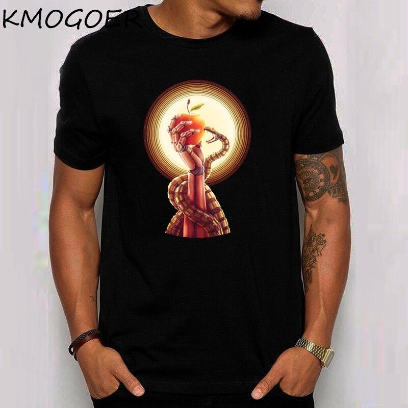 Eve Deus Ex Machina Mens Tee Shirt Casual Short Sleeve Print Women T Shirt Casual Summer Tshirt Male T-Shirt
