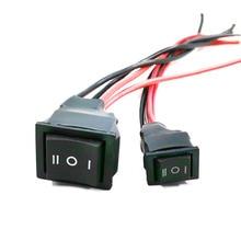 10A/ 20A interrupteur dinversion avec fil interrupteur trois pôles pompe à engrenages moteur inversion interrupteurs de commande KG21