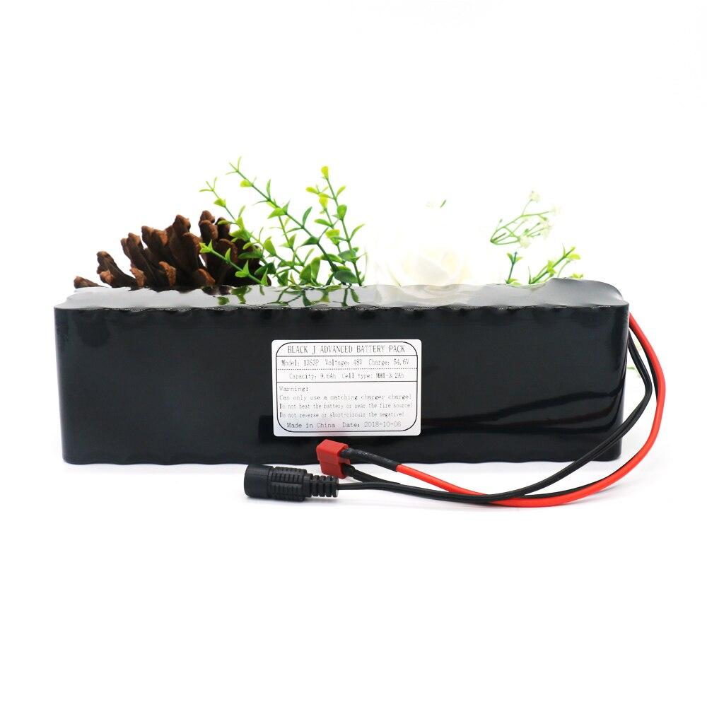 KLUOSI 13S3P 48V9. 6Ah 800W für MH1 54,6 V Li-Ion Batterie Pack mit 25A Ausgewogene BMS für Ebike Elektrische Fahrrad Motor Roller