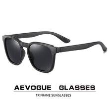 AEVOGUE-lunettes de soleil polarisées rétro   Nouvelle mode TR classique pour hommes femmes, lunettes de soleil de marque de styliste, UV400 AE0797