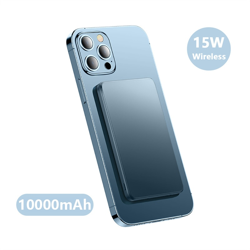 15W Magnetic Wireless Power Bank For Magsafe Mobile Phone Charging Battery For iphone12 12Pro 12proMax 12mini PD20W Fast Charger