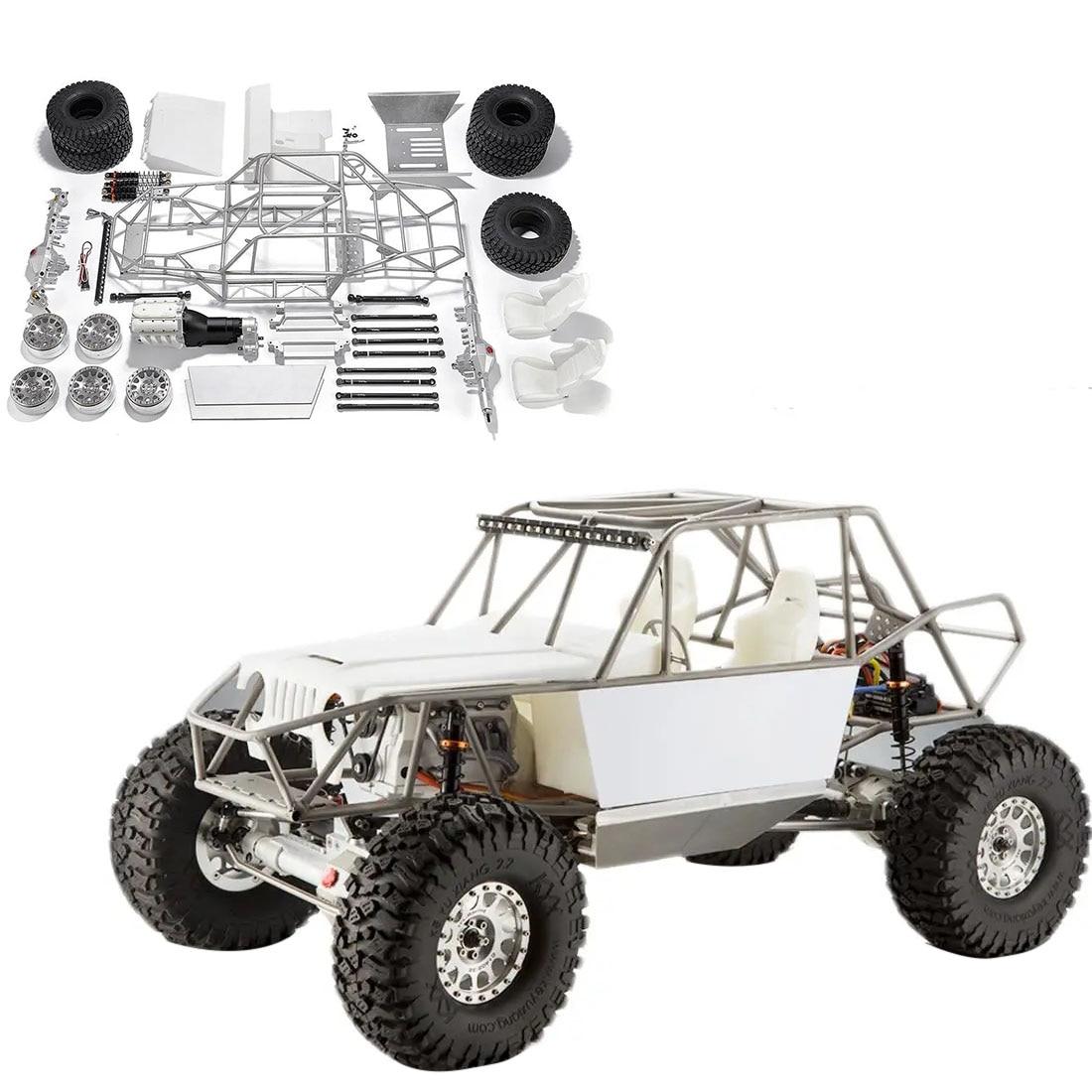 TFL Einhorn C1805 1/10 4WD Voll Metall RC Crawler Auto mit Front Doppel Gang-Keine Malerei KIT Version