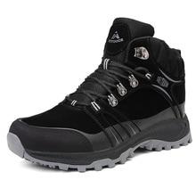New Winter Men Women Outdoor Sports Hiking Boots Classic Trekking Shoes For Man Rock Climbing Sneakers Trendy Mountain Footwear