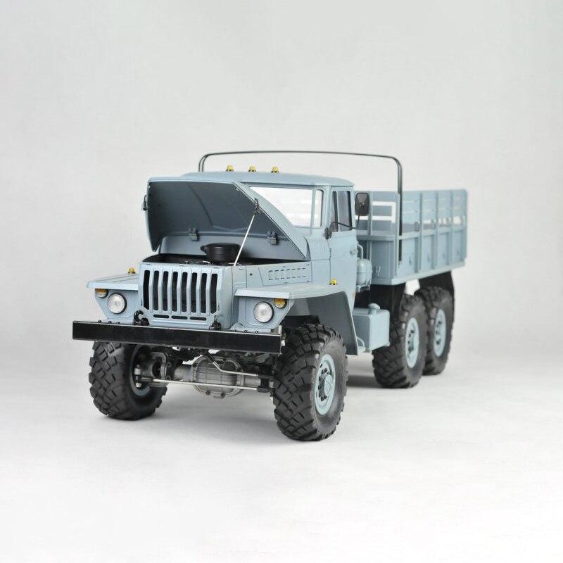 الصليب RC 1/12 UC6 العسكرية 6*6 سيارة شاحنة عدة 35T موتور محاور معدنية محاور نموذج في الهواء الطلق لعب للأولاد هدية TH10490-SMT6