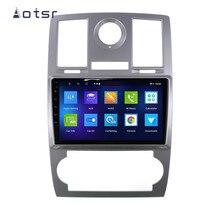 AOTSR-lecteur multimédia pour Chrysler Aspen 300C Jeep Dodge   Android 9.0 2din voiture, Radio de Navigation GPS, 2004 2005 2006 2007 2014