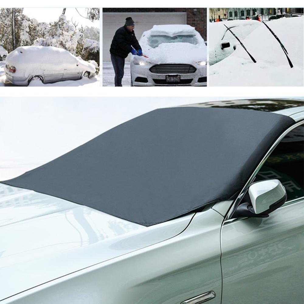 Universal Coche magnético parabrisas cubierta de hielo de nieve sombrilla escudo invierno parasol para parabrisas frontal cubierta de parabrisas