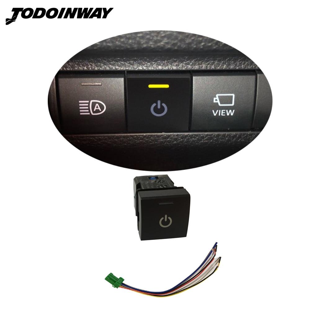 Botón de luz antiniebla delantera, interruptor de encendido para Toyota Camry 2018-2020 para Avalon Rav4 2019 2020